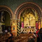 Verehrung des Blutes Jesus Christus in der Heilig-Blut-Basilika in Brügge