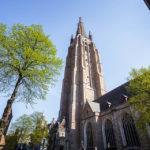 Außenansicht der Liebfrauenkirche in Brügge