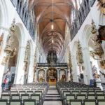 Innenansicht der Liebfrauenkirche in Brügge