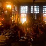 Innenansicht des Restaurant Passage Bruges
