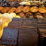 Schokolade in einem der zahlreichen Chocolatiers in Brügge