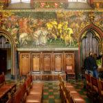 Der Gotische Saal im Rathaus (Stadhuis) von Brügge