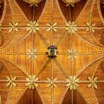 Decke im Gotischen Saal im Rathaus (Stadhuis) von Brügge
