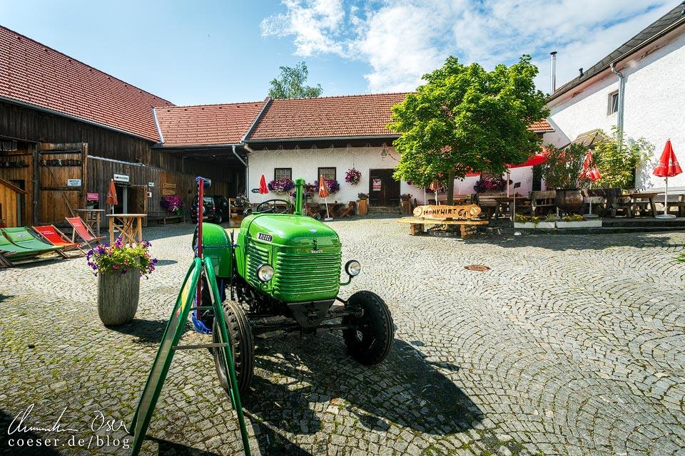 Mohnwirt Neuwiesinger im Mohndorf Armschlag
