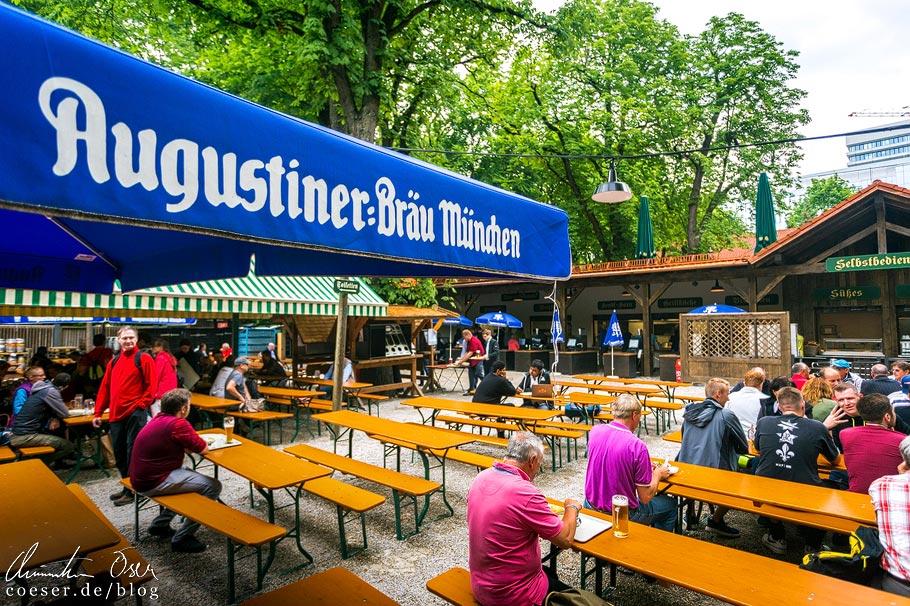 Biergarten Augustiner-Keller in München