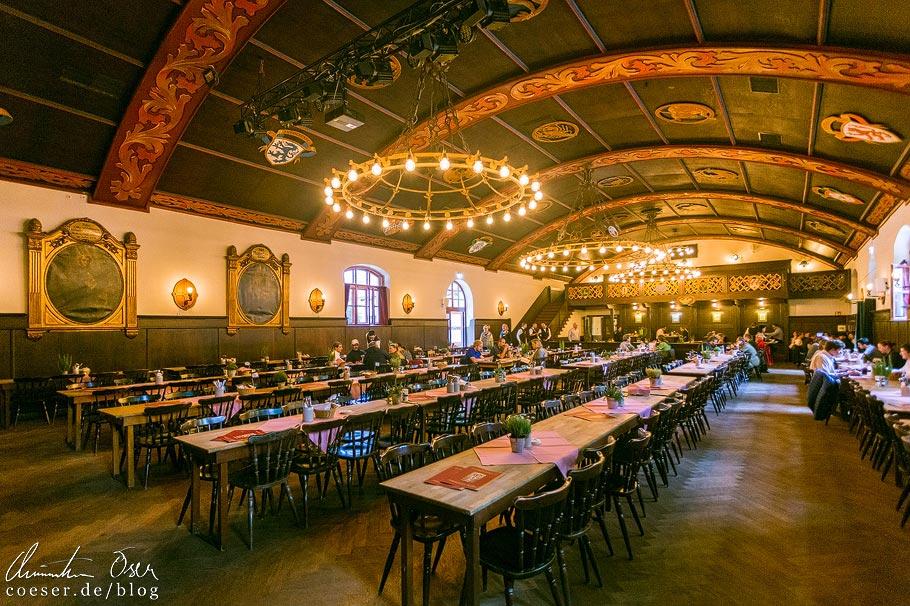 Festsaal im Biergarten Augustiner-Keller in München