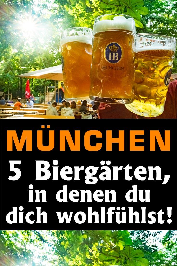 München: Erfahrungen zu den fünf Biergärten Viktualienmarkt, Hofbräukeller, Augustinerkeller, Bavariapark und Chinesischer Turm