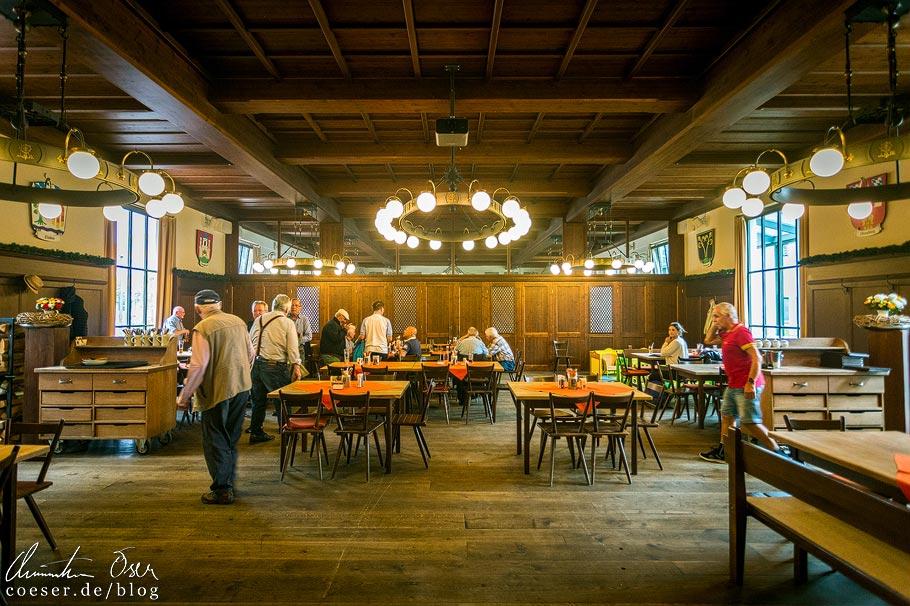 Festsaal im Biergarten im Wirtshaus am Bavariapark in München