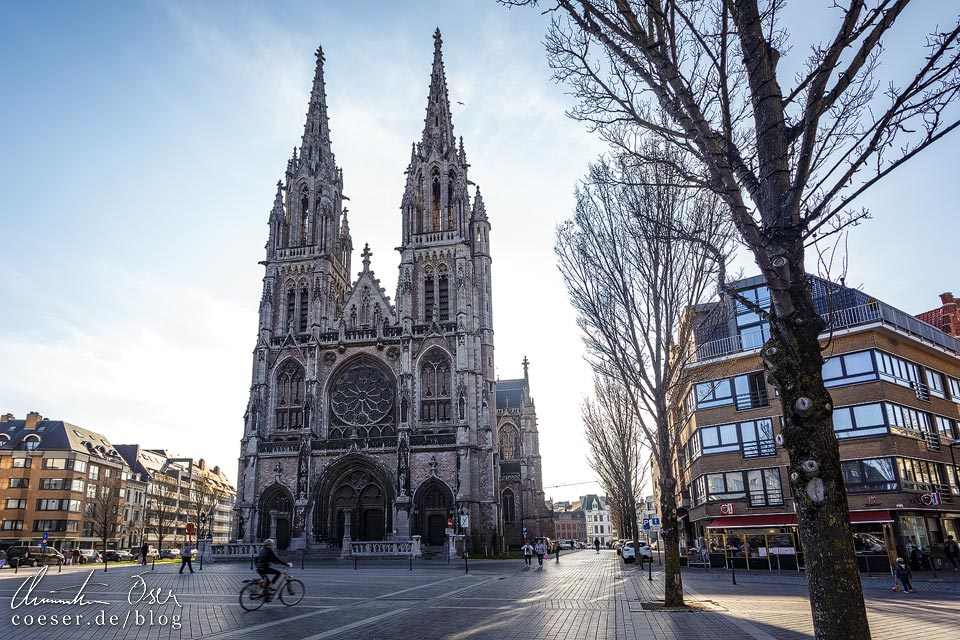 Sint-Petrus-en-Pauluskerk in Oostende in Belgien