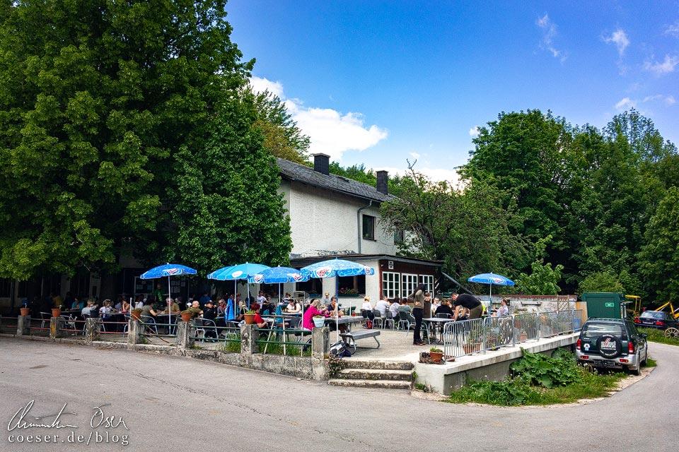 Gasthaus Jagasitz nach der Steinwandklamm in Niederösterreich