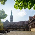 Der Innenhof der Alten Hofhaltung in Bamberg