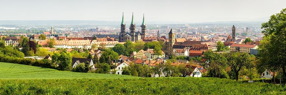Panorama von Bamberg