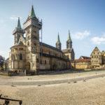 Außenansicht des Bamberger Doms