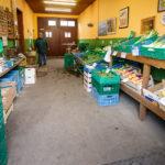 Gemüsestand in der Gärtnerstadt in Bamberg
