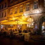 Außenansicht des Hofbräu in Bamberg
