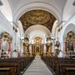 Innenansicht der Katholischen Kirche St. Martin in Bamberg