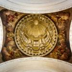 Die Scheinkuppel in der Katholischen Kirche St. Martin in Bamberg