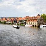 Blick auf die ehemalige Fischersiedlung Klein Venedig