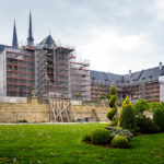 Das Kloster Michelsberg wird für mehrere Jahre eingerüstet bleiben