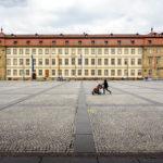 Das Rathaus auf dem Maxplatz in Bamberg
