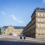 Außenansicht der Neuen Residenz in Bamberg