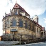 Außenansicht der Oberen Pfarre in Bamberg