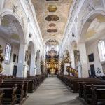 Innenansicht der Oberen Pfarre in Bamberg