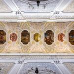 Deckengewölbe in der Oberen Pfarre in Bamberg