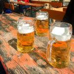 Im Biergarten des Restaurant Altenburg in Bamberg lässt es sich gut aushalten