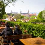 Aussicht auf Bamberg vom Spezial Keller