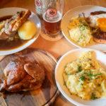 Fränkische Spseisen in der Gaststätte Zum Sternla in Bamberg