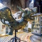 Der alte Drache im Belfried von Gent