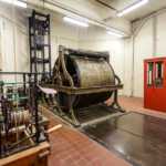 Mechanik des Glockenspiels im Belfried von Gent