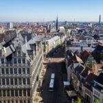 Blick vom Belfried auf Gent