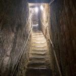 Enge Treppe im Belfried von Gent
