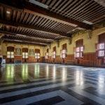 Die Tuchhalle im Belfried von Gent