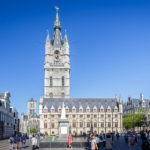 Außenansicht des Belfrieds von Gent