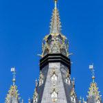Der Drache auf der Spitze des Belfrieds von Gent