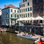 Das Bierlokal Het Waterhuis aan de Bierkant in Gent