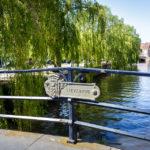 Die ruhige Gegend rund um die Lievebrug in Gent