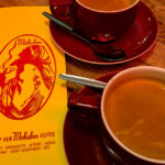Sehr guter Espresso im Café Mokabon in Gent