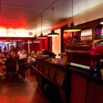 Innenansicht des Café Mokabon in Gent