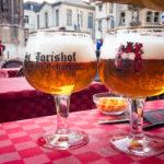 Hausbier im Restaurant Sint-Jorishof in Gent