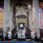 Die Kanzel in der St.-Bavo-Kathedrale in Gent