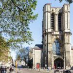 Außenansicht der St. Michaelkirche in Gent