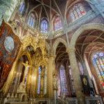 Innenansicht der St. Michaelkirche in Gent
