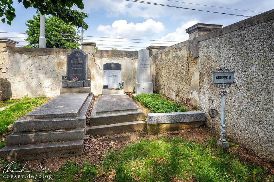 Erstes Grab von Privatier Jakob Zelzer auf dem Wiener Zentralfriedhof