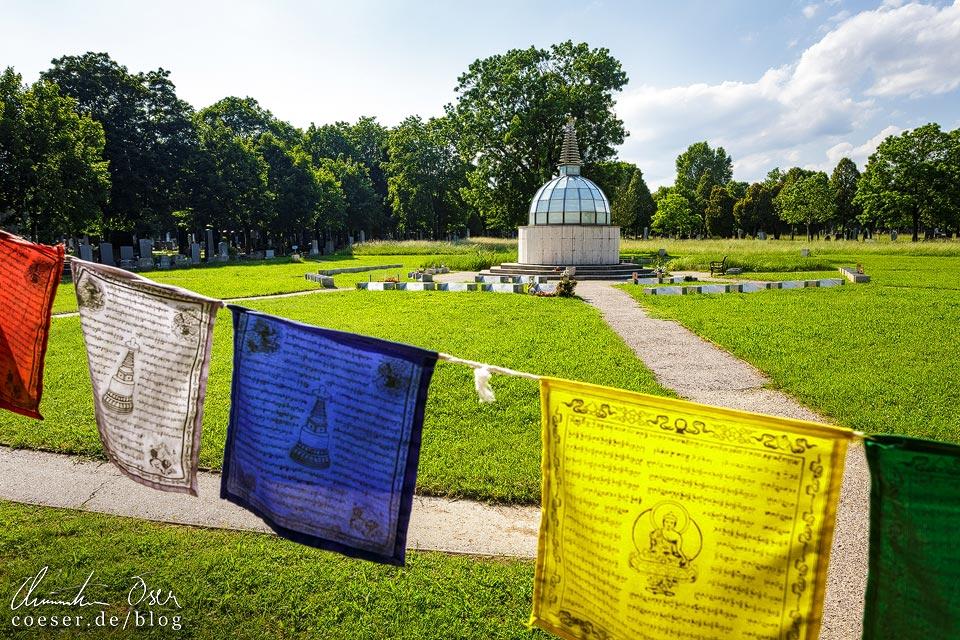 Buddhistischer Friedhof auf dem Wiener Zentralfriedhof