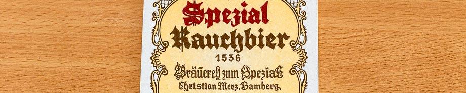 Bierdeckel der Brauerei Spezial in Bamberg