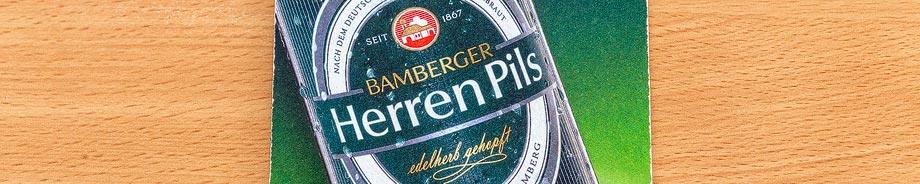 Bierdeckel der Brauerei Keesmann in Bamberg